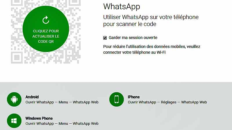 comment espionner sur whatsapp web